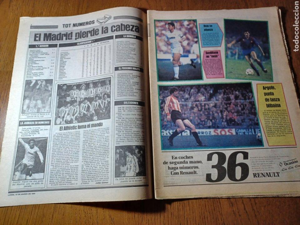 Coleccionismo deportivo: SPORT 12 MARZO 1984 MÁLAGA 0 BARCA1 . ¡ SCHUSTERAZO Y OLE , EN MÁLAGA!- EL MADRID PERDIÓ LA CABEZA. - Foto 2 - 253144575
