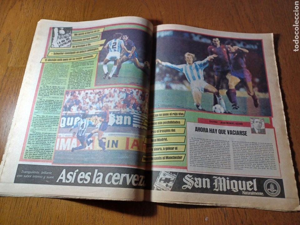 Coleccionismo deportivo: SPORT 12 MARZO 1984 MÁLAGA 0 BARCA1 . ¡ SCHUSTERAZO Y OLE , EN MÁLAGA!- EL MADRID PERDIÓ LA CABEZA. - Foto 12 - 253144575