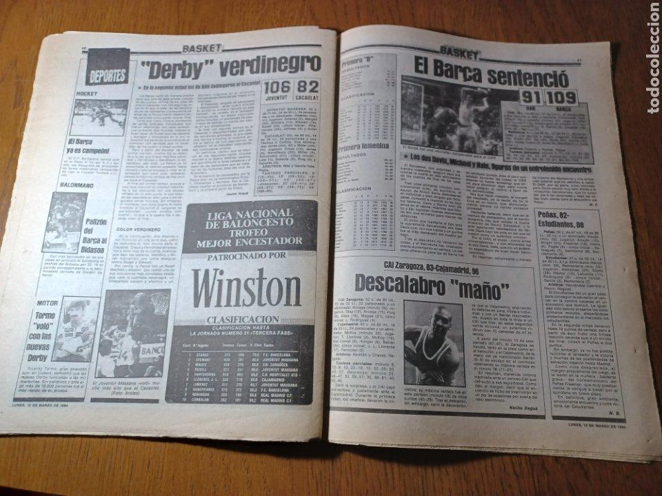 Coleccionismo deportivo: SPORT 12 MARZO 1984 MÁLAGA 0 BARCA1 . ¡ SCHUSTERAZO Y OLE , EN MÁLAGA!- EL MADRID PERDIÓ LA CABEZA. - Foto 13 - 253144575
