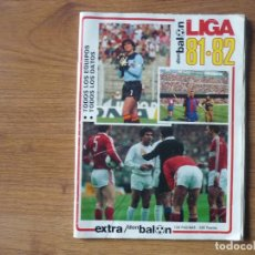 Coleccionismo deportivo: REVISTA FUTBOL DON BALON EXTRA LIGA 81 82 CON 128 PAGINAS - TEMPORADA 1981 1982. Lote 253168385