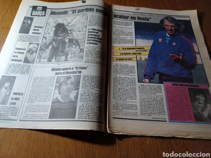 Coleccionismo deportivo: SPORT 17 FEBRERO 1984.¡ATAQUE GOLEADOR!. BARCA- VALLADOLID - Foto 2 - 253170680