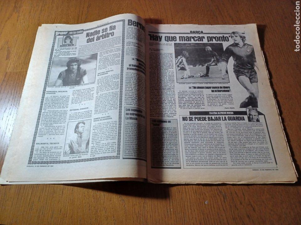 Coleccionismo deportivo: SPORT 17 FEBRERO 1984.¡ATAQUE GOLEADOR!. BARCA- VALLADOLID - Foto 4 - 253170680