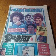 Coleccionismo deportivo: SPORT 17 FEBRERO 1984.¡ATAQUE GOLEADOR!. BARCA- VALLADOLID. Lote 253170680