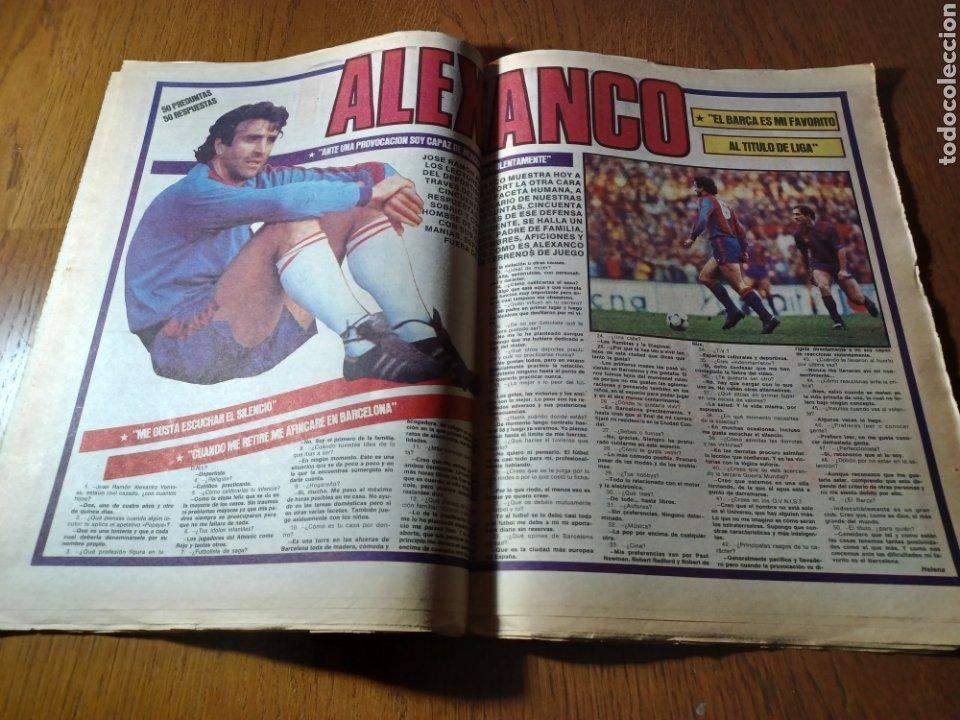 Coleccionismo deportivo: SPORT 17 FEBRERO 1984.¡ATAQUE GOLEADOR!. BARCA- VALLADOLID - Foto 7 - 253170680