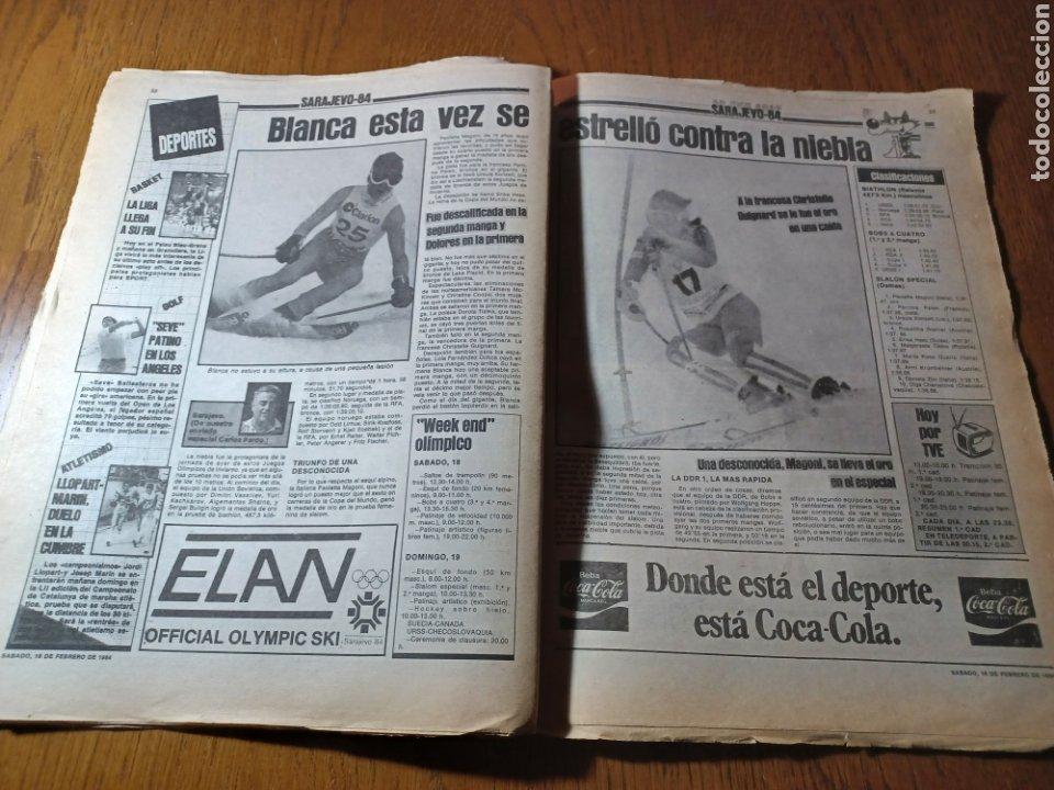Coleccionismo deportivo: SPORT 17 FEBRERO 1984.¡ATAQUE GOLEADOR!. BARCA- VALLADOLID - Foto 8 - 253170680