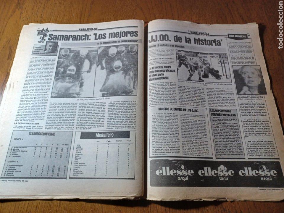 Coleccionismo deportivo: SPORT 17 FEBRERO 1984.¡ATAQUE GOLEADOR!. BARCA- VALLADOLID - Foto 9 - 253170680