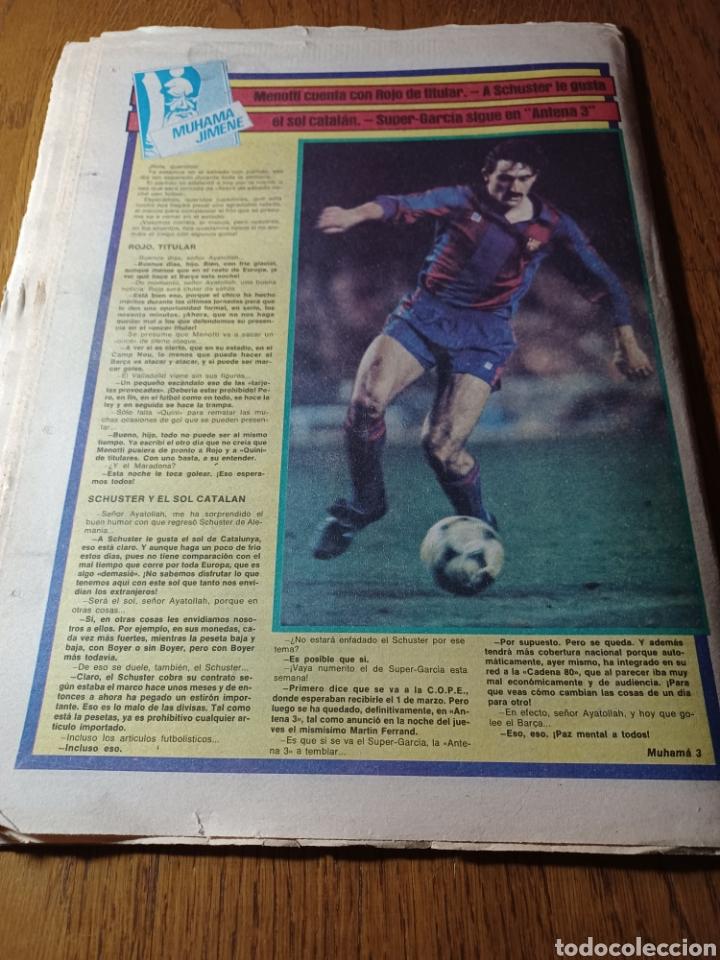 Coleccionismo deportivo: SPORT 17 FEBRERO 1984.¡ATAQUE GOLEADOR!. BARCA- VALLADOLID - Foto 10 - 253170680