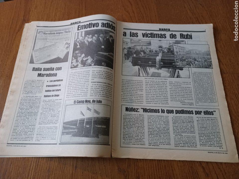 Coleccionismo deportivo: SPORT 8 MAYO 1984.ADIOS MENOTTI- BENNHAKER ACEPTARIA EL RETO. COLECCIONABLE DE AMBERES A LA EURO 84 - Foto 5 - 253263435