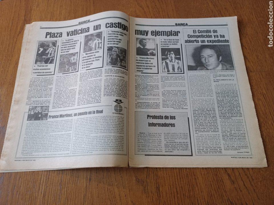 Coleccionismo deportivo: SPORT 8 MAYO 1984.ADIOS MENOTTI- BENNHAKER ACEPTARIA EL RETO. COLECCIONABLE DE AMBERES A LA EURO 84 - Foto 6 - 253263435