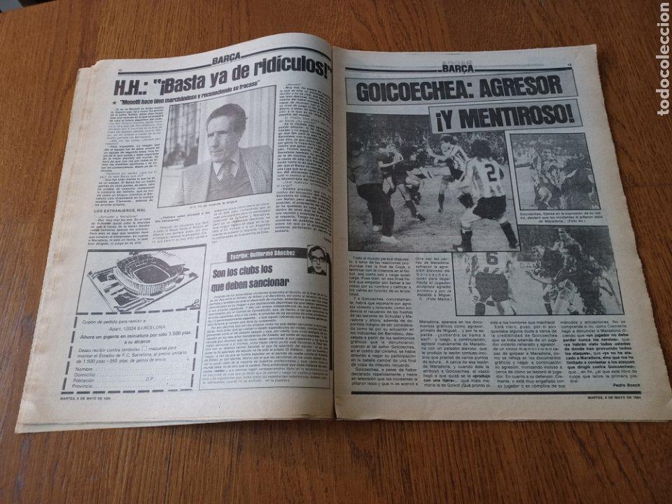 Coleccionismo deportivo: SPORT 8 MAYO 1984.ADIOS MENOTTI- BENNHAKER ACEPTARIA EL RETO. COLECCIONABLE DE AMBERES A LA EURO 84 - Foto 7 - 253263435
