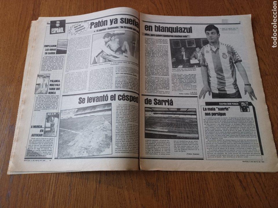 Coleccionismo deportivo: SPORT 8 MAYO 1984.ADIOS MENOTTI- BENNHAKER ACEPTARIA EL RETO. COLECCIONABLE DE AMBERES A LA EURO 84 - Foto 8 - 253263435