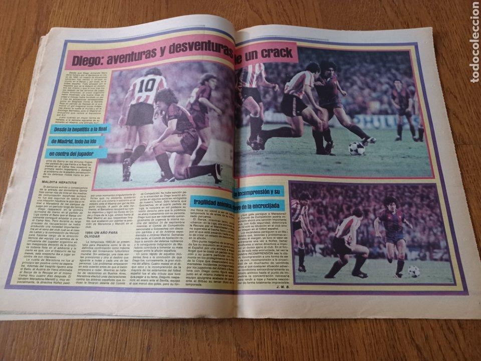 Coleccionismo deportivo: SPORT 8 MAYO 1984.ADIOS MENOTTI- BENNHAKER ACEPTARIA EL RETO. COLECCIONABLE DE AMBERES A LA EURO 84 - Foto 9 - 253263435