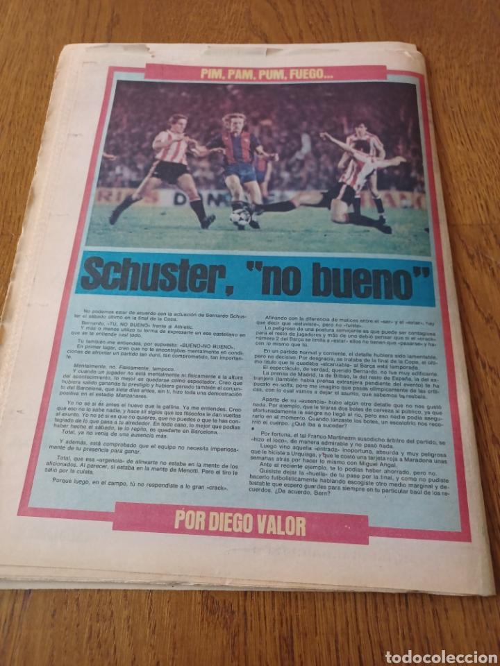 Coleccionismo deportivo: SPORT 8 MAYO 1984.ADIOS MENOTTI- BENNHAKER ACEPTARIA EL RETO. COLECCIONABLE DE AMBERES A LA EURO 84 - Foto 11 - 253263435