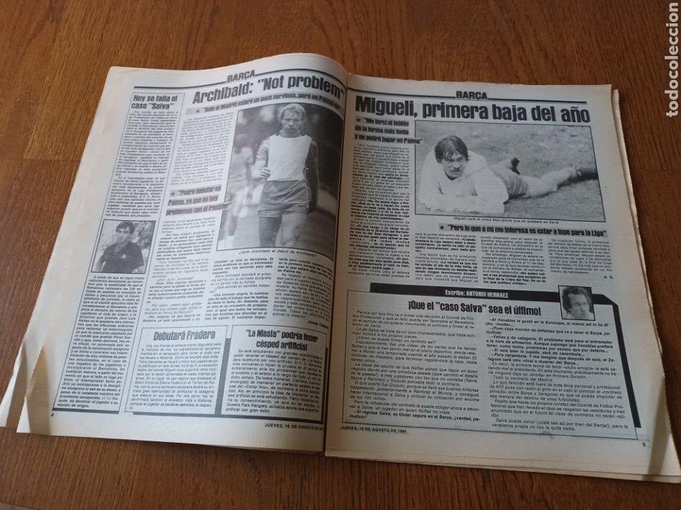 """Coleccionismo deportivo: SPORT 16 AGOSTO 1984. LA HORA FRADERA - """"MOVIDA"""" EN EL MADRID JUANITO, GALLEGO Y BUTRAGUENO. K.O. - Foto 3 - 253271715"""