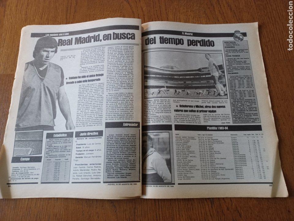 """Coleccionismo deportivo: SPORT 16 AGOSTO 1984. LA HORA FRADERA - """"MOVIDA"""" EN EL MADRID JUANITO, GALLEGO Y BUTRAGUENO. K.O. - Foto 10 - 253271715"""