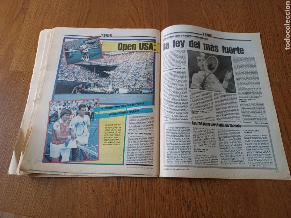 """Coleccionismo deportivo: SPORT 16 AGOSTO 1984. LA HORA FRADERA - """"MOVIDA"""" EN EL MADRID JUANITO, GALLEGO Y BUTRAGUENO. K.O. - Foto 12 - 253271715"""
