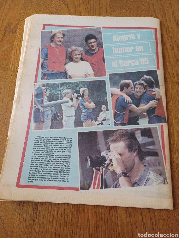 """Coleccionismo deportivo: SPORT 16 AGOSTO 1984. LA HORA FRADERA - """"MOVIDA"""" EN EL MADRID JUANITO, GALLEGO Y BUTRAGUENO. K.O. - Foto 14 - 253271715"""