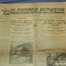 Coleccionismo deportivo: (M) LA JORNADA DEPORTIVA N.1 AÑO 1923 PENYA RHIN, BARCELONA CONTRA SPORTS DE SABADELL. Lote 253279480