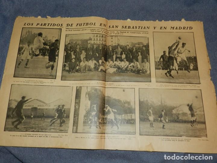 Coleccionismo deportivo: (M) LA JORNADA DEPORTIVA N.90 AÑO 1922 ATHLETIC DE BILBAO VENCE AL FC BARCELONA - Foto 2 - 253279620
