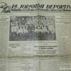 Coleccionismo deportivo: (M) LA JORNADA DEPORTIVA N.60 AÑO 1923 EQUIPO DE SLAVIA, VENCEDOR DEL ATHLETIC DE BILBAO. Lote 253279795