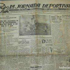Coleccionismo deportivo: (M) LA JORNADA DEPORTIVA N.25 AÑO 1924 QUEEN'S CLUB DE LONDRES - FC BARCELONA, BOXEO RICARDO ALÍS. Lote 253279985