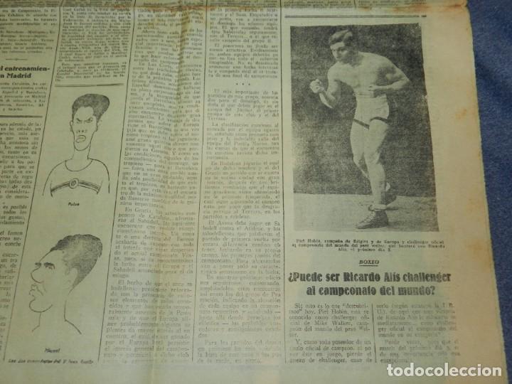 Coleccionismo deportivo: (M) LA JORNADA DEPORTIVA N.8 AÑO 1924 BOXEO - pUEDE SER RICARDO ALÍS CHALLENGER DEL MUNDO? - Foto 2 - 253280155