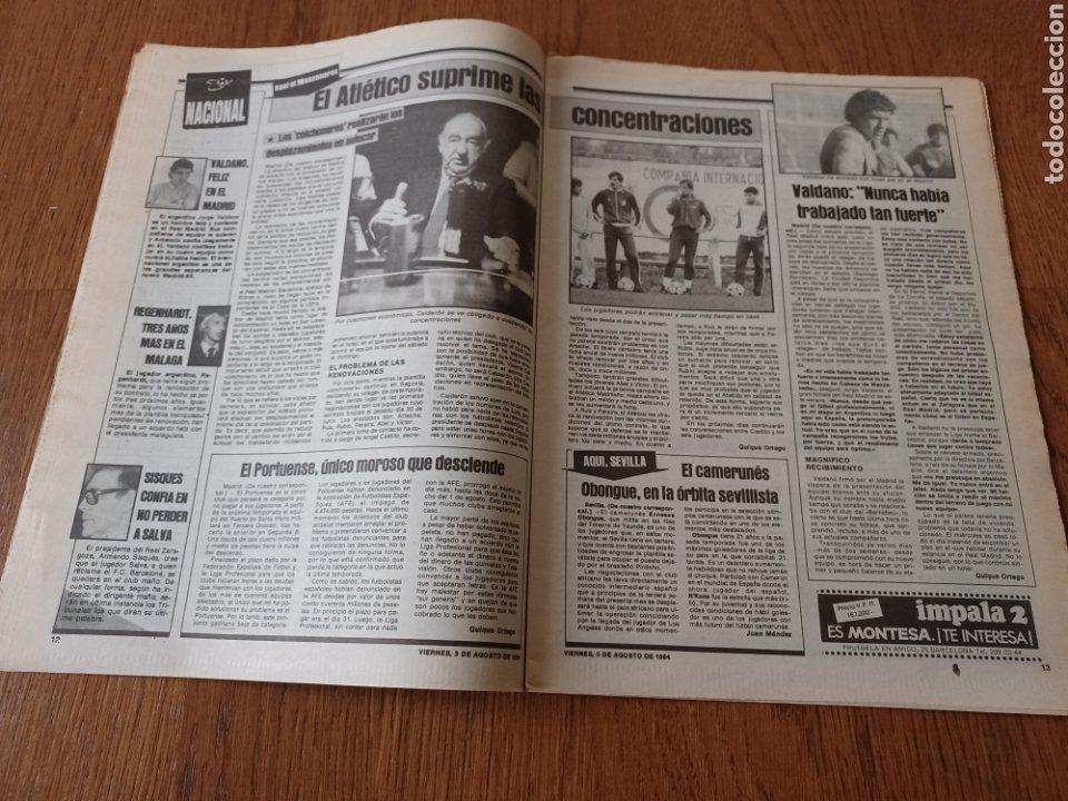 "Coleccionismo deportivo: SPORT 3 AGOSTO 1984 ¡ LISTA NEGRA!. "" MARADONA NO SE CUIDA NADA "". MARIN OLIMPIADA. - Foto 7 - 253547895"