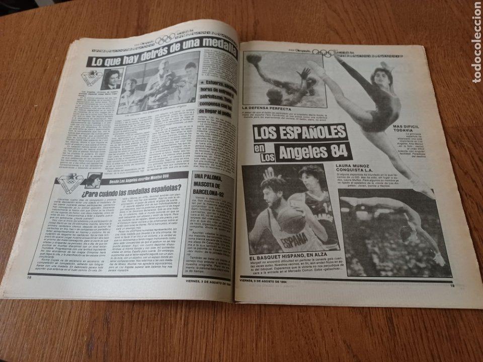 "Coleccionismo deportivo: SPORT 3 AGOSTO 1984 ¡ LISTA NEGRA!. "" MARADONA NO SE CUIDA NADA "". MARIN OLIMPIADA. - Foto 10 - 253547895"