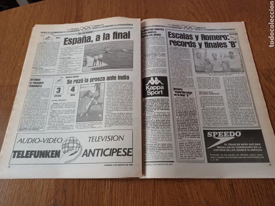 "Coleccionismo deportivo: SPORT 3 AGOSTO 1984 ¡ LISTA NEGRA!. "" MARADONA NO SE CUIDA NADA "". MARIN OLIMPIADA. - Foto 12 - 253547895"