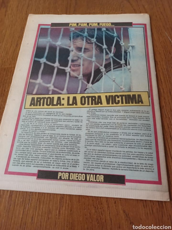 "Coleccionismo deportivo: SPORT 3 AGOSTO 1984 ¡ LISTA NEGRA!. "" MARADONA NO SE CUIDA NADA "". MARIN OLIMPIADA. - Foto 13 - 253547895"