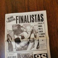 Coleccionismo deportivo: AS DIARIO GRÁFICO NÚMERO 3273. Lote 253603310