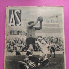 Coleccionismo deportivo: PERIODICO AS Nº 43 1933 LIGA 32/33 REAL MADRID CAMPEON - CICLISMO TROFEO MASFERRER PARIS-NIZA. Lote 253618675