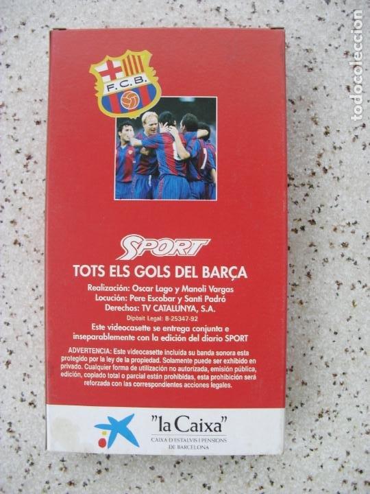 Coleccionismo deportivo: VIDEO DE FUTBOL - Foto 2 - 253782065