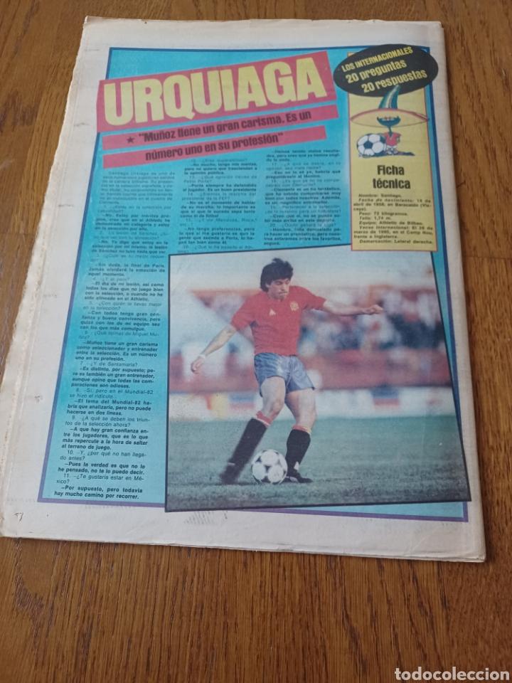 Coleccionismo deportivo: SPORT 15 NOVIEMBRE 1984. ESCOCIA 3 ESPAÑA 1 ¡ QUÉ BAÑO! .ARKONADA Y VÍCTOR, LOS MEJORES. URQUIAGA. - Foto 10 - 253825260