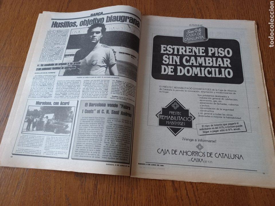 Coleccionismo deportivo: SPORT 9 JUNIO 1984.COPA DE LA LIGA. BARCA- MALLORCA MARADONA JUEGA SUS ÚLTIMAS CARTAS . ARKONADA - Foto 6 - 253855720