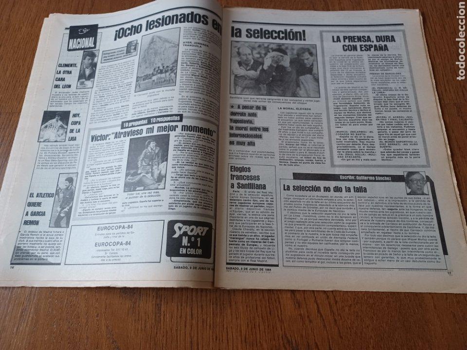 Coleccionismo deportivo: SPORT 9 JUNIO 1984.COPA DE LA LIGA. BARCA- MALLORCA MARADONA JUEGA SUS ÚLTIMAS CARTAS . ARKONADA - Foto 9 - 253855720