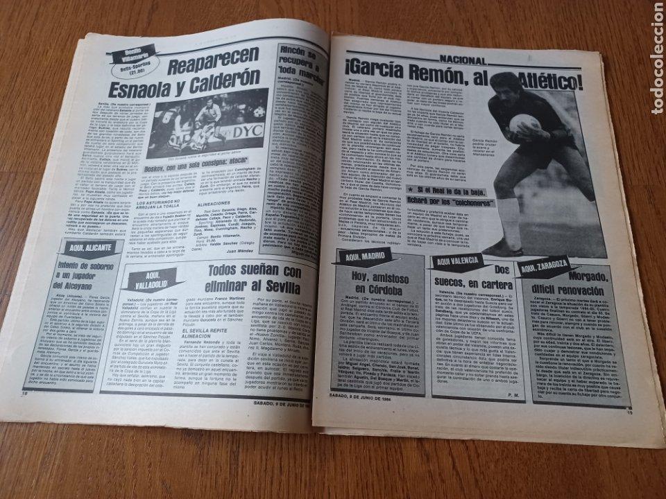 Coleccionismo deportivo: SPORT 9 JUNIO 1984.COPA DE LA LIGA. BARCA- MALLORCA MARADONA JUEGA SUS ÚLTIMAS CARTAS . ARKONADA - Foto 10 - 253855720