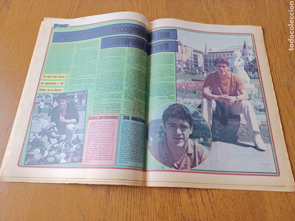 Coleccionismo deportivo: SPORT 9 JUNIO 1984.COPA DE LA LIGA. BARCA- MALLORCA MARADONA JUEGA SUS ÚLTIMAS CARTAS . ARKONADA - Foto 11 - 253855720
