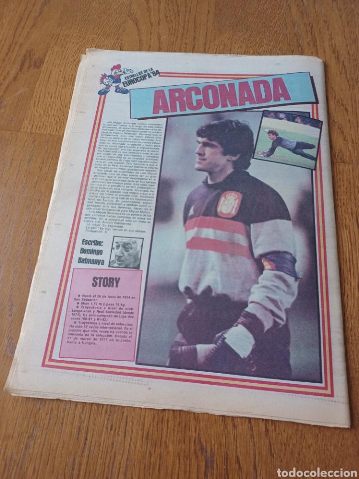 Coleccionismo deportivo: SPORT 9 JUNIO 1984.COPA DE LA LIGA. BARCA- MALLORCA MARADONA JUEGA SUS ÚLTIMAS CARTAS . ARKONADA - Foto 13 - 253855720