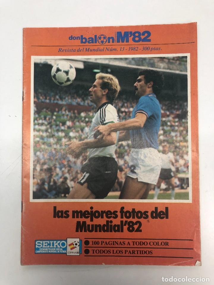 REVISTA DON BALÓN DEL MUNDIAL 82 NÚMERO 13 (Coleccionismo Deportivo - Revistas y Periódicos - Don Balón)