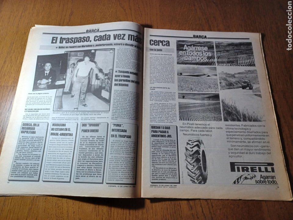 Coleccionismo deportivo: SPORT 15 JUNIO 1984. EUROCOPA , ESPAÑA 1 RUMANÍA 1 .CARRASCO SALVO EL HONOR. ALEMANIA 0 PORTUGAL 0 - Foto 10 - 253868030