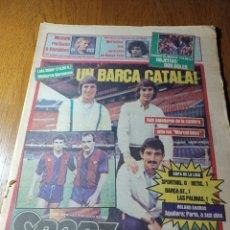 Coleccionismo deportivo: SPORT 3 JUNIO 1984.UN BARCA CATALA ! ROLAND GARROS AGUILERA : PARÍS, A SUS PIES .. Lote 253911420