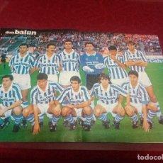 Coleccionismo deportivo: LOTE DE 20 POSTERS DE LA REVISTA DON BALÓN DE LOS EQUIPOS DE FÚTBOL TEMPORADA 93/94 1993/1994. Lote 253962770