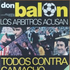 Coleccionismo deportivo: DON BALON N.º 51 - 21 SEPTIEMBRE 1976 - BARCELONA 3 MADRID 1 - ASI JUEGA JORDAO - PEREIRA ATLETICO M. Lote 253975930