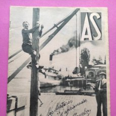 Coleccionismo deportivo: PERIODICO AS Nº 59 1933 VICENTE TRUEBA TOUR FRANCIA 33 - SPORTING GIJON ASTURIAS - STADIUM SEVILLA. Lote 254141675