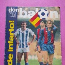 Coleccionismo deportivo: REVISTA DON BALON Nº 341 REAL MADRID CAMPEON COPA DEL REY 1981/1982 - SPORTING GIJON 81/82. Lote 254150270