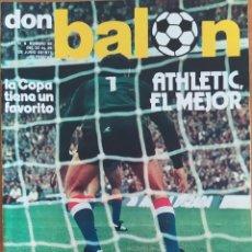 Coleccionismo deportivo: DON BALON N.º 89 - 20 AL 26 JUNIO 1977 -ATHLETIC EL MEJOR - WOLFF- ANZARDA BETIS. Lote 254168440