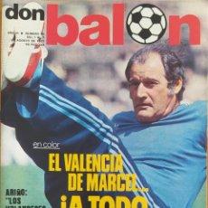 Coleccionismo deportivo: DON BALON N.º 95 - 1 AL 7 AGOSTO 1977 - CRUYFF - LEAL - VALENCIA 77-78. Lote 254178515