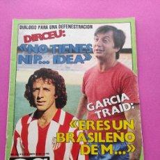 Coleccionismo deportivo: REVISTA AS COLOR Nº 535 1981 KEMPES SELECCION ARGENTINA - ATLETICO DE MADRID - VIOLETA CELA. Lote 254178995