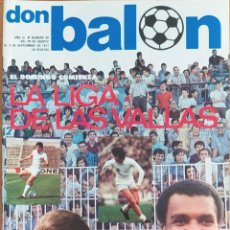 Coleccionismo deportivo: DON BALON N.º 99 - 29 AGOSTO AL 4 SEPTIEMBRE 1977 - AITOR AGUIRRE - KEMPES - CAMACHO. Lote 254179750